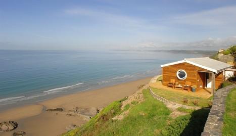 The Edge luxury beach hut Whitsand Bay Cornwall, Luxury beach hut Whitsand Bay, Cornwall | Tiny Homes -  A Big Idea | Scoop.it