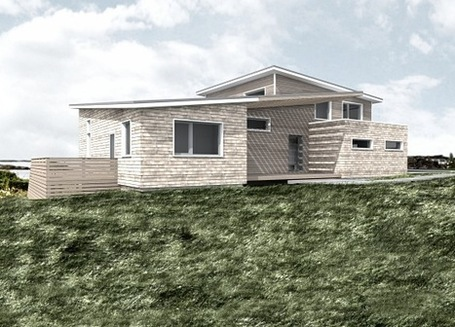 Contemporary Cape Cod House | Green Home | NZEB Net Zero Energy Building | Scoop.it