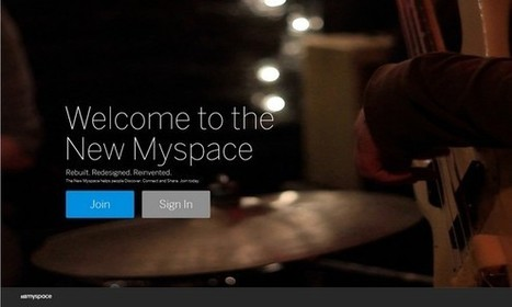 New MySpace launches out of beta | Business in a Social Media World | Scoop.it