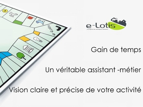 ELotis le logiciel pour les aménageurs fonciers | Quadra Diffusion | Scoop.it