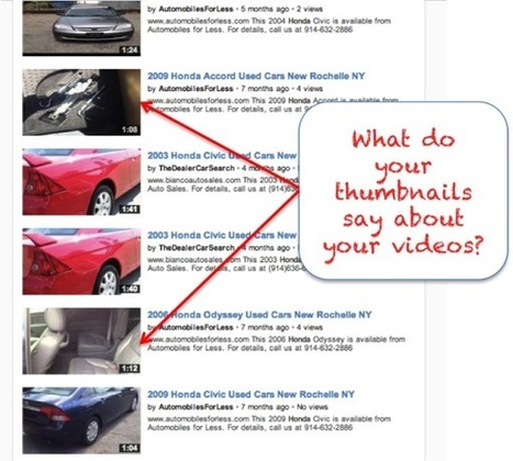 The Seventh Commandment of Automotive Video Marketing: Use the Right Thumbnail [How-to] - Automotive Digital Marketing Professional Community | WeSellDigitally.com Weekly Digest | Automotive Video Marketing | Scoop.it