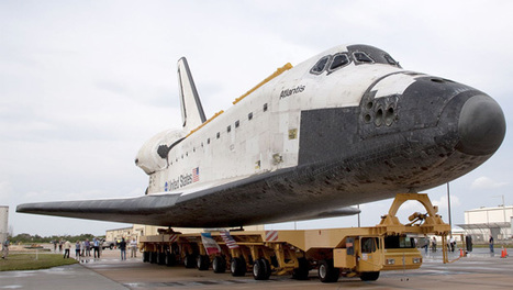 Atlantis, the last of NASA's space shuttles to move into a museum will roll over to its Florida retirement home in one week's time. | AUDITORIA, mouseion Broadband | Scoop.it