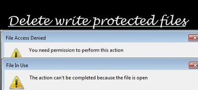 How to delete write protected files from computer | Nobitas World | Scoop.it