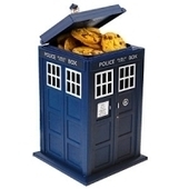 Doctor Who TARDIS Talking Cookie Jar - Doctor Who Stuffs | Cool Gift Ideas | Scoop.it