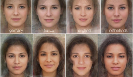 The Average Faces of Women Around the World   Resources for English Language Teachers   Scoop.it
