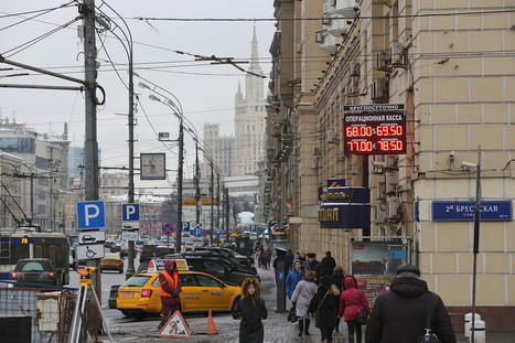 Russia's Economic Outlook Worse Than Thought, World Bank Says | Life in Moscow From an Expat Perspective | Scoop.it