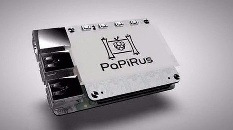PaPiRus is a $46 e-paper display for the Raspberry Pi - Geek | Raspberry Pi | Scoop.it