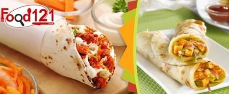 Paneer Kathi Rolls | Food | Scoop.it