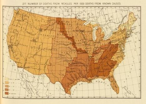 These 19th Century Maps Show Measles Death Rates Before Vaccines - io9 | INTRODUCTION TO THE SOCIAL SCIENCES DIGITAL TEXTBOOK(PSYCHOLOGY-ECONOMICS-SOCIOLOGY):MIKE BUSARELLO | Scoop.it