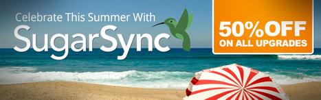 SugarSync Summer Crunch - Enjoy 50% Off on All Upgrades   Best VPN Provider   Scoop.it