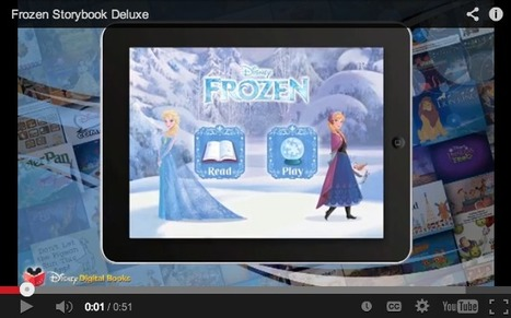 Disney Turns to Apps Like 'Frozen' Storybook to Get Kids into Movie Theaters | Tracking Transmedia | Scoop.it