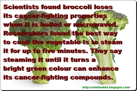 BROCCOLI: A HEALTHY FOOD YOU'RE PROBABLY EATING WRONG | Nutrition for healthy food piramid | Scoop.it