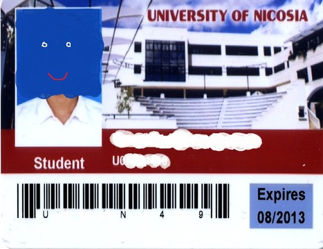 New ID/photocopy card for students! | University of Nicosia Library | Scoop.it