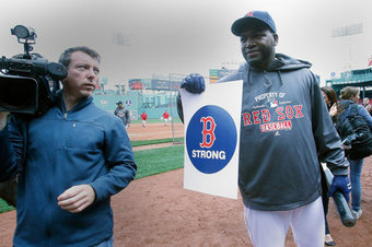 David Ortiz ends Red Sox pregame ceremony in perfect fashion - SB Nation | Red Sox | Scoop.it