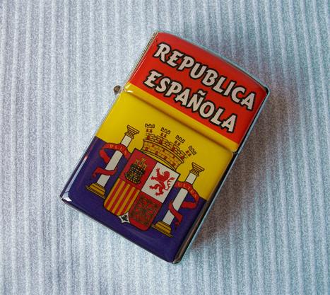 Zippo República Española con Escudo | Actualidad España | Scoop.it