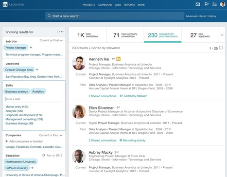 LinkedIn doubles down on Recruiter, its big revenue generator, with a major update | LinkedIn and Social Media Marketing | Scoop.it