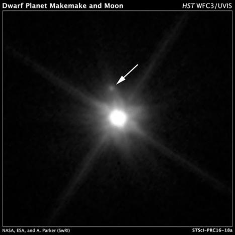 Ça se passe là haut...: Découverte d'un satellite autour de Makémaké : MK2 | C@fé des Sciences | Scoop.it