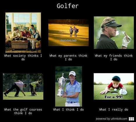 Golfer | What I really do | Scoop.it