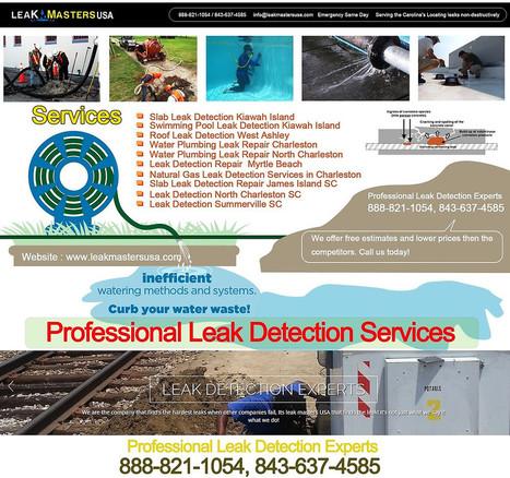 Professional Leak Detection Services   Leak Masters USA   Scoop.it