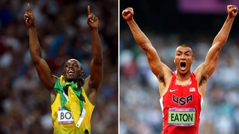 The World's Greatest Athlete Wins Gold in London. And So Does Usain Bolt. | Bolt and London 2012 | Scoop.it