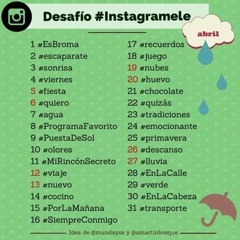 #InstagramELE April!   Todoele: Herramientas y aplicaciones para ELE   Scoop.it