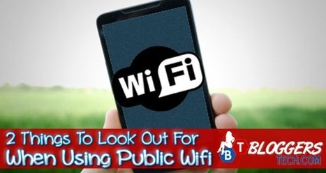 2 Things To Look Out For When Using Public Wifi   JOIN SCOOP.IT AND FOLLOW ME ON SCOOP.IT   Scoop.it