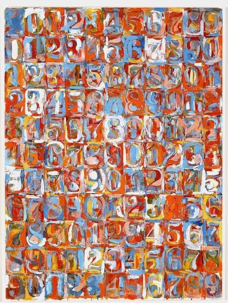 Why Jasper Johns Doesn't Paint Each Number The Same Way   Jasper Johns   Scoop.it