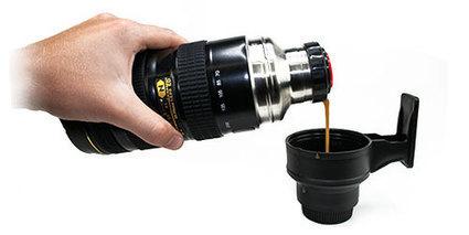 Thermos Objectif d'appareil photo | Mega Gadgets | La Fête des secrétaires, assistantes et assistants | Scoop.it