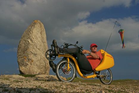Tour du Monde à vélo / photos en Bretagne | Voyage à vélo couché - Recumbent bike travel | Scoop.it