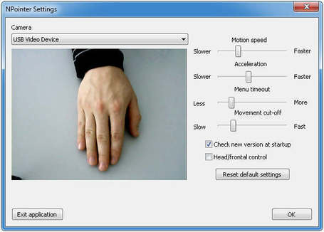 Gesture-based navigation and control with simple hand movements near webcam | formation 2.0 | Scoop.it