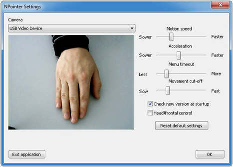 Gesture-based navigation and control with simple hand movements near webcam | Time to Learn | Scoop.it