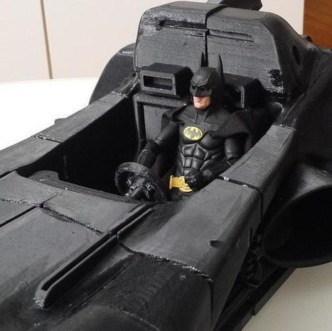 Batman Fan 3D Prints the Batmobile and Batcyle | 3D Virtual-Real Worlds: Ed Tech | Scoop.it