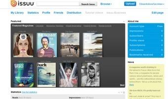 Issuu un servicio en línea que permite la visualización de material digitalizado | Social Media | Scoop.it