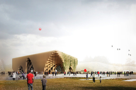 Fertile Market by X-TU: An Innovative French Pavilion for the 2015 Milan Expo | sustainable architecture | Scoop.it