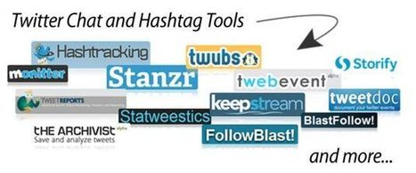 28+ Twitter Chat and Hashtag Tools | Twitter Toolbox | Scoop.it