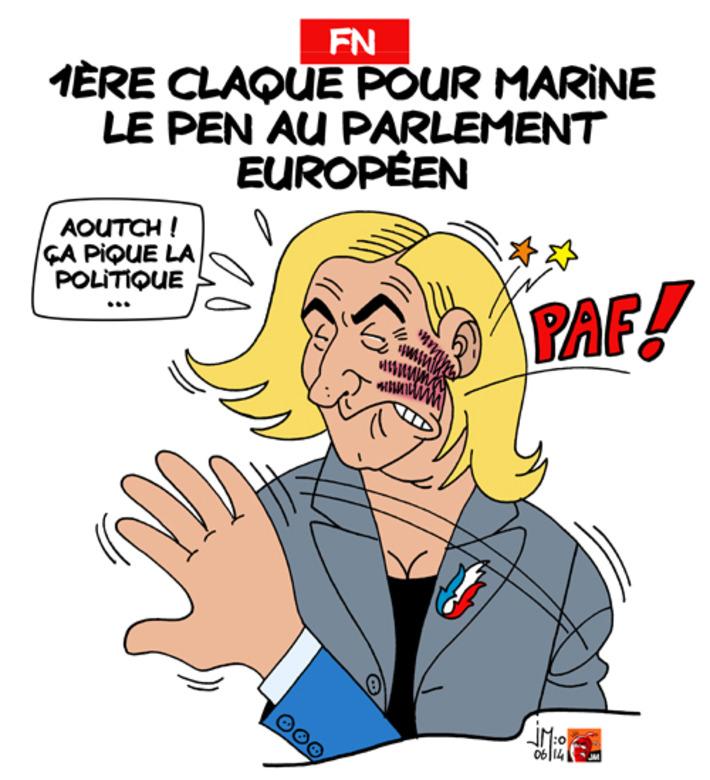 Parlement européen : 1ère claque pour Marine Le Pen | Baie d'humour | Scoop.it