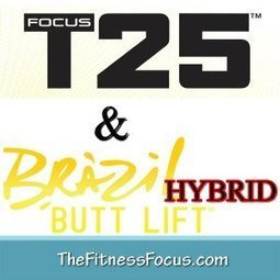 My Brazil Butt Lift and Focus T25 Hybrid Schedule   The Fitness Focus   Health & Fitness   Scoop.it
