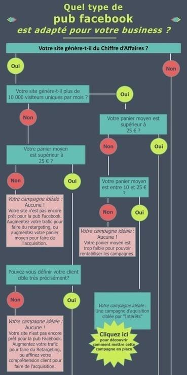 [Infographie] Découvrez votre campagne de pub Facebook idéale | Marketing Digital | Scoop.it