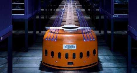Amazon : des robots révolutionnent le travail dans les entrepôts | gautierfaviertest | Scoop.it