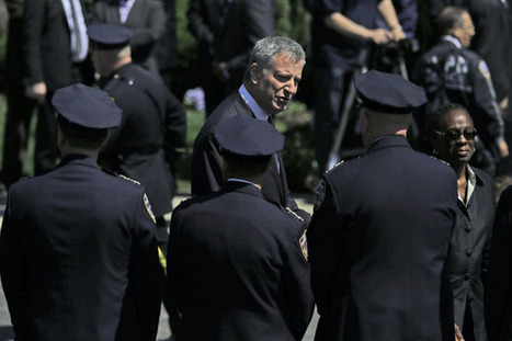 A funeral for a New York police officer, a changed Bill de Blasio | Coffee Party News | Scoop.it
