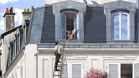 These Amazing Trompe L'oeil Illusions Bring Drab City Buildings To Life | News we like | Scoop.it