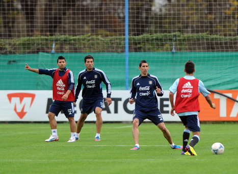 Argentina complete first training session on Brazilian soil - BuenosAiresHerald.com | FIFA World Cup 2014 | Scoop.it