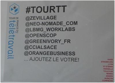 Quel est l'impact du télétravail sur les entreprises ? : le TourTT à Strasbourg   Teletravail et coworking   Scoop.it