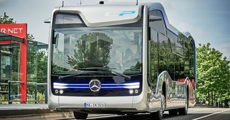 Mercedes' autonomous bus makes a landmark trip on public roads | Heron | Scoop.it