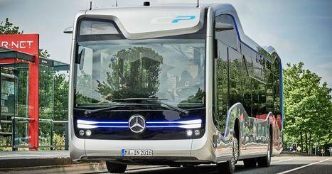 Mercedes' autonomous bus makes a landmark trip on public roads | Heron | Scoop.it