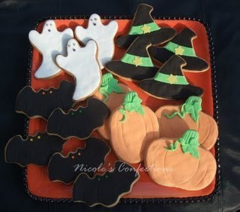 Confections, Cakes & Creations!: Halloween Cookies. | My MUST-SEEs | Scoop.it