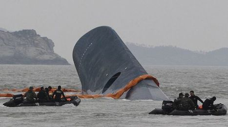 South Korea ferry disaster: Body of missing shipping tycoon found | Criminology and Economic Theory | Scoop.it
