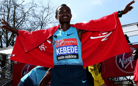 London Marathon 2013: Tsegaye Kebede of Ethiopia wins men's race for the second the time, after victory in 2010 - Telegraph | Running for Life | Scoop.it