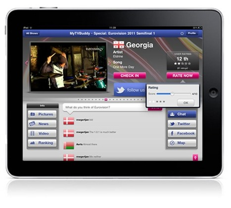 MyTVBuddy - First Pan-European Social TV App on iPad | The Future of Social TV | Scoop.it