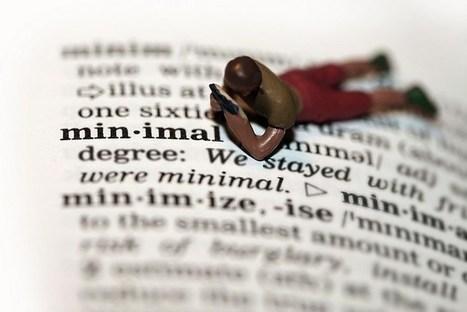 Minimalismo en 10 ideas clave | Vida minimalista | Scoop.it